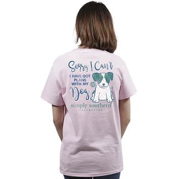 Simply Southern I Can't, I Have Plans With My Dog Tee