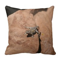 Lizard in the Desert Pillows