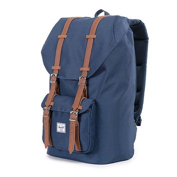 Little America Backpack in Navy by Herschel Supply Co.