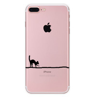 You Can't See Me Cat Case for iPhone 7 7Plus & iPhone se 5s 6 6 Plus High Quality Cover +Gift Box-90