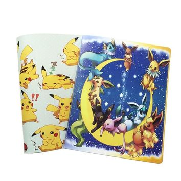 Album Book Accommodating 324 Cards, Photos, Stamps, Collection List 2 Kinds of Cartoon Cover Hot SaleKawaii Pokemon go  AT_89_9