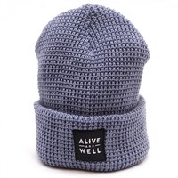 Alive & Well Waffle Knit Beanie