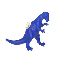 Huge Recycled Dark Blue Pachycephalosaurs Dinosaur Planter