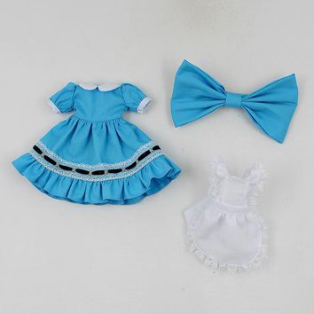 Fortune Days Blyth doll Alice in Wonderland dress with melamed  for the  cute dressing Factory Blyth