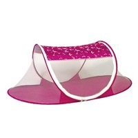I Frogee Hot Pink Butterfly Brocade Pop-Up Tent For Baby Girl