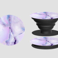 Purple Marble PopSocket