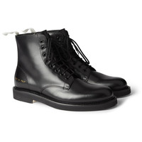 Common Projects Leather Combat Boots | MR PORTER