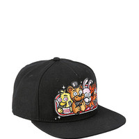 Five Nights At Freddy's Group Lineup Snapback Hat