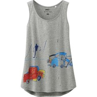 WOMEN SPRZ NY TANK TOP (JEAN-MICHEL BASQUIAT) | UNIQLO