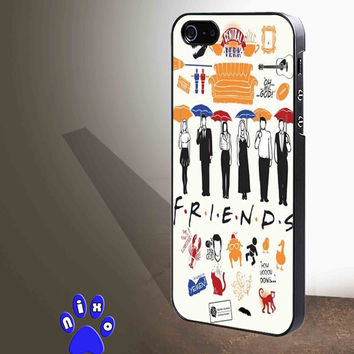 Friends TV Show collage for iphone 4/4s/5/5s/5c/6/6+, Samsung S3/S4/S5/S6, iPad 2/3/4/Air/Mini, iPod 4/5, Samsung Note 3/4 Case **