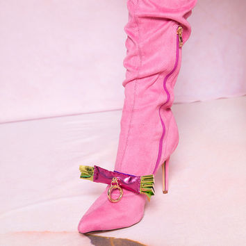 Mooly SS17 Pink Shoe Clip