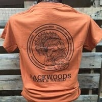 Backwoods Born & Raised Turkey Unisex Bright T Shirt