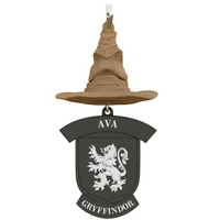 Harry Potter™ Sorting Hat Personalized Gryffindor Ornament