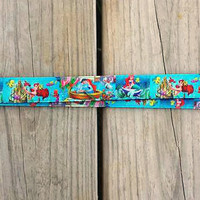 Disney Inspired The Little Mermaid Lanyard, Pin Trading Lanyard, ID holder, Accessories, Key Holder