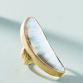 Crescent Cocktail Ring