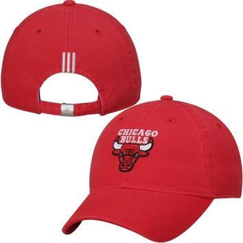 Chicago Bulls adidas Women's Slouch Adjustable Hat ¨C Red