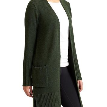 Athleta Womens Passage Sweater Coat