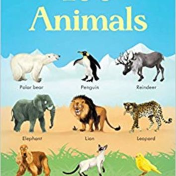 199 Animals Board book – June 1, 2016