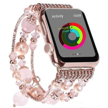 Casual Beads Bracelet Band for Apple Watch