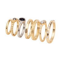 H&M 7-pack Rings $5.95