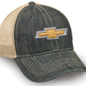 Chevrolet Denim Cap - ChevyMall