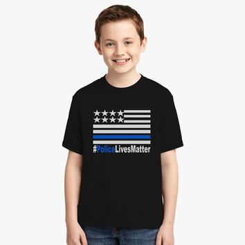 Police Lives Matter Youth T-shirt