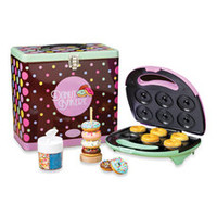 Nostalgia Electrics™ Mini Donut Maker Kit