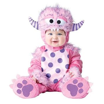 Pink Princess Girl Romper Animal Baby Girl Cosplay Dress Fantasy Fancy Kids Halloween Dinosaur Insect Costumes Photo Props Baby