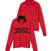 University of Louisville Boyfriend Half Zip