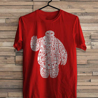 Big Hero 6 inspired Baymax typo tshirt