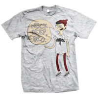 Neck Deep: Cartoon T-Shirt (Ash Grey)