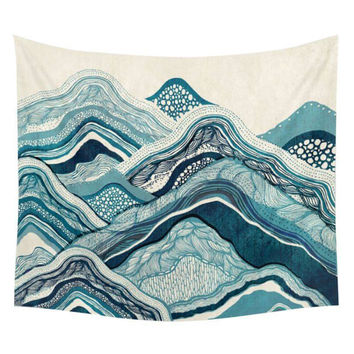 Indian Tapestry Wall Hanging Hippie Landscape Mandala Bedspread Ethnic Throw Art AA