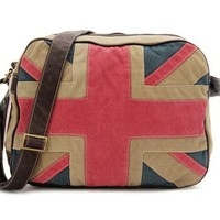 Unique Flag Canvas Shoulder Bag