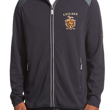 Men's Tommy Bahama 'Goal Line - Chicago Bears' NFL Full Zip Jacket,