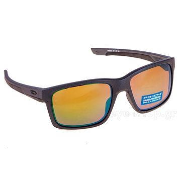 New OAKLEY MAINLINK PRIZM POLARIZED Sunglasses Steel/Shallow H2O Water Fish