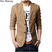 2016 Autumn New Men Blazer Fashion Slim casual blazer for Men Brand Mens suit Designer jacket outerwear men 3 colors M~XXXXXL