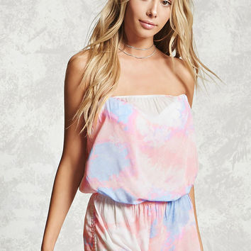 Tie-Dye Cover-Up Romper
