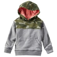 OshKosh B'gosh Camo Hoodie - Toddler Boy, Size: