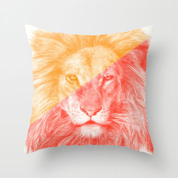 Wild 3 by Eric Fan & Garima Dhawan Throw Pillow by Garima Dhawan