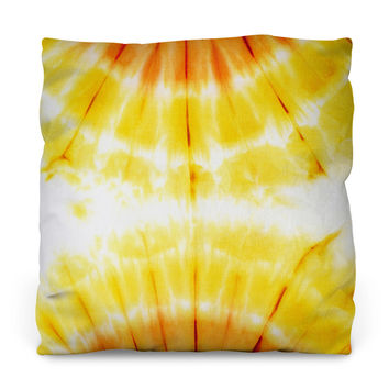 Attractive Amber Throw Pillow