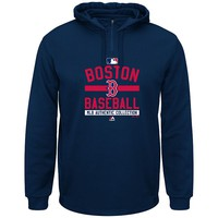 Majestic Boston Red Sox AC Team Property Therma Base Fleece Hoodie