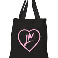 """Little Mix """"NEW LM Heart Logo"""" 100% Cotton Tote Bag"""