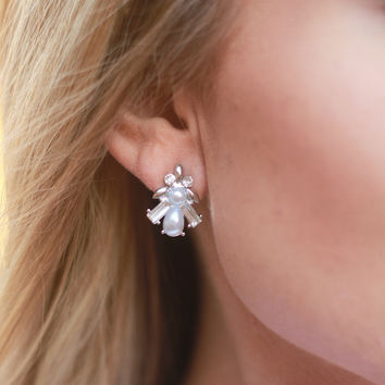 The Charlotte Stud in Silver