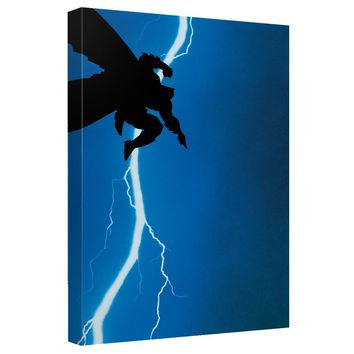Batman - Dkr Cover Canvas Wall Art With Back Board