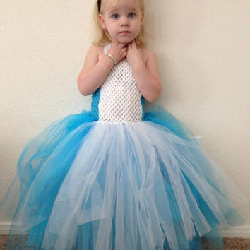 Alice in Wonderland inspired Tutu dress/ Birthday Christmas costume
