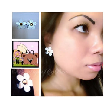Marc Jacobs Inspired Daisy Earrings