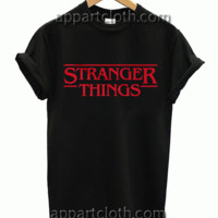STRANGER THINGS Unisex Tshirt