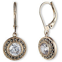 Judith Jack Marcasite and CZ Drop Earrings