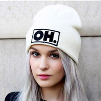 Women Knitted Hats for Girls Beanie Cap Fashion women's Autumn Winter Hats for female