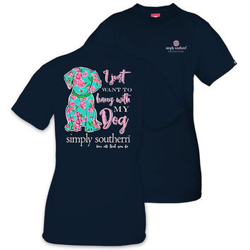 """Simply Southern """"Dog"""" Short Sleeve Tee"""